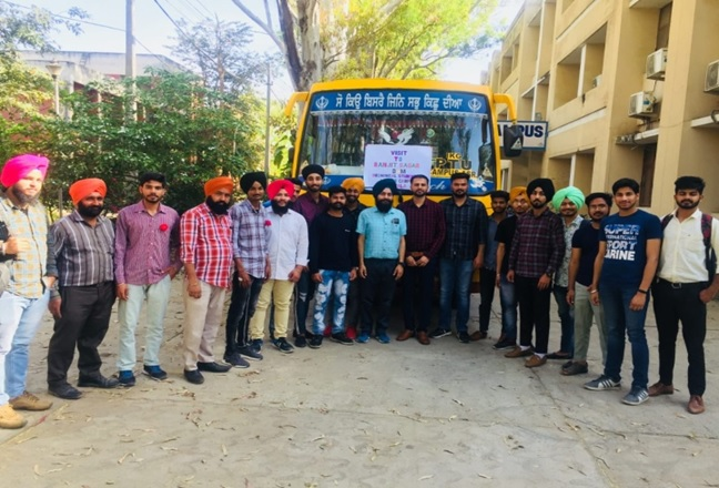 Industrial Visits of Engineering students