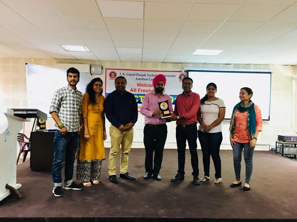"""Yes We Can"" Motivational workshop conducted by Art of Living on 6th August 2018"